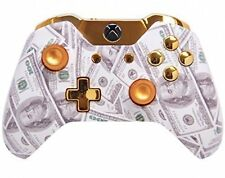 """""""Gold Money"""" Xbox One Rapid FIre Modded Controller 35 MODS Snip"""