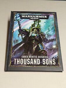 Thousand Sons Codex 8th Edition Rule Book Warhammer 40k Rulebook Ed Eighth