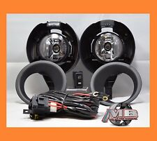 Replacement Clear Lens Fog Light kit Lamp For 05-15 Nissan Frontier Metal Bumper
