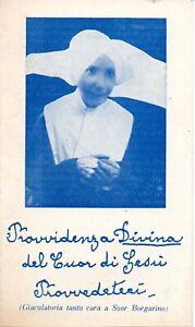 Santino Suor Teresa Gabriella Borgarino 1955  holy card  (21)