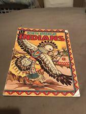 RARE Vintage 1978 Troubador Press North American Indians Coloring Book