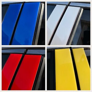 Fits Nissan Juke 2011-2015 Multi-Colored Window Pillar Post Trim 10PCS