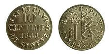 pcc1839_67) Swiss Cantons. City of Geneva. 10 Centimes 1844