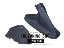 For Bmw E36 E46 Automatic Gear & Handbrake Boot Black Leather