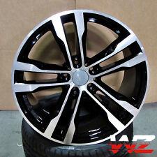 "20"" Wheels 468 Style Rims fits BMW X5 X6 XDrive 35d 30I 50I Rims Machined Black"