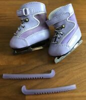 American Girl Doll: Mia's Purple Ice Skates (2008 Girl of the Year -- Archived)