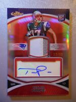 2010 Topps Finest Football Taylor Price Autograph Jersey 2CLR Patch #/50