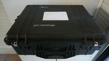 Pelican 1600 Large Case with used foam - Black