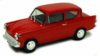 Ford Anglia 105E Saloon - Monaco Red, 1:43 Scale. Ford Model Cars, Vans