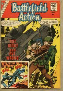 Battlefield Action #31-1960 vg 4.0 4 war stories / Charlton Sam Glanzman