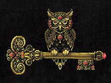 "Counted Cross Stitch Kit Make Your Own Hands K-36 - ""The key of wisdom"""