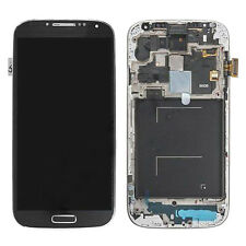 Black Touch Screen Digitizer LCD Display+Frame For Samsung Galaxy S4 LTE+ i9506
