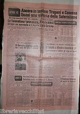 CALCIO SALERNITANA L AQUILA TARANTO CIRIO DI GENNARO CATANIA BOLOGNA UDINESE DI