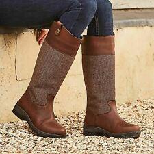 Dublin Ladies Eden Drifted Brown Boots
