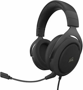 Corsair HS50 Pro - Stereo Gaming Headset - Discord Certified Carbon