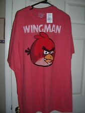 NWT Mens ANGRY BIRDS 'WINGMAN' T Shirt Size 2XL New!