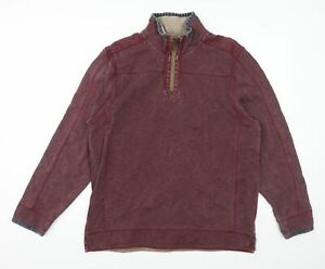 MANTARAY PRODUCTS Mens Red   Pullover Jumper Size L