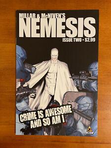 2 Issues of NEMESIS, #2 & #4, Written by Mark Millar