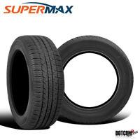 2 X New Supermax TM-1 205/65R15 94T All-Season Touring Tire