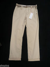 Cotton Chinos 28L Trousers for Women's Regular Size
