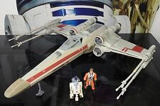 Star Wars véhicule vaisseau X-Wing Fighter Luke Skywalker + R2-D2 figures HASBRO 2002