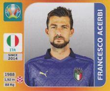 Panini Sticker Fußball EM Euro 2020 Tournament 2021 Nr. 14 Francesco Acerbi Bild