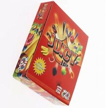 24 Juicy Jays Full Box Mix N Roll King Size Slim Rolling Papers 8 Flavours Mix