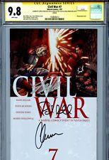 Civil War 2006 7 CGC 9.8 X3 McNiven cover Stan Lee Chris Evans Paul Rudd Millar