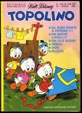TOPOLINO N° 1274 - 27 APRILE 1980 - CONDIZIONI OTTIMO