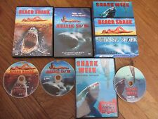 Coffret Shark week + Beach Shark + Jurassic Shark, 3DVD, Horreur