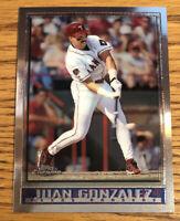 Juan Gonzalez 1998 Topps Chrome Rangers #30   *245*