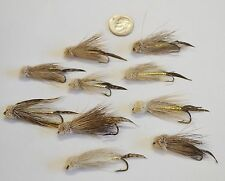 Lot of 10 New Custom Fly Fishing Flies Trout Lures Wooly