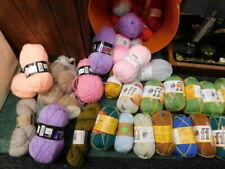 job lot of wool approx 60 balls some top branded names arne & carlos wool