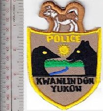 Canada First Nation Indian Tribal Police Kwanlin Dun Premiere Nation Yukon Terri