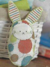 New Baby Boy Girl Bunny Toy Gift Cross Stitch Pattern (d8e66)