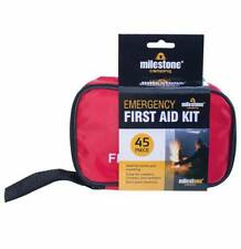 45 PIECE FIRST AID KIT BAG MEDICAL EMERGENCY KIT TRAVEL CAMPING HOME CAR