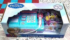 Disney FROZEN Role Play Toy Supermarket Cash Register limited Frozen Cashier