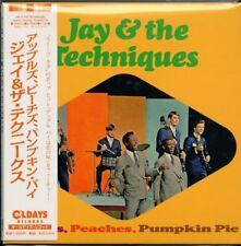 JAY & THE TECHNIQUES-APPLES. PEACHES. PUMPKIN PIE-JAPAN MINI LP CD C94