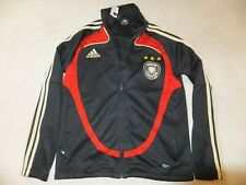 Germany Football Adidas Track Jacket Top Size 32/34 Youth Xs Adult No Shirt N7
