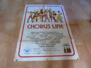 CHORUS LINE    Michael Douglas          2F.  RARITA'