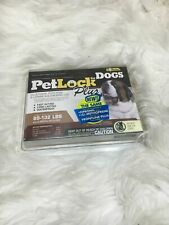 Pet Lock Plus for Dogs 89 - 132 lbs 3 doses Fleas Eggs and Larvae b35