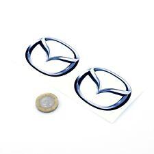 Mazda Badge Stickers Decal Car Vinyl 50mm x2 MX5 Miata RX7 RX8 Decal