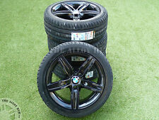 ORIGINALE BMW 1 Serie F20 / F21 379 M SPORT BLACK EDITION 17INCH LEGA wheels+tyres