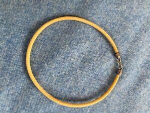 Halskette, Choker aus Südamerika, Geflochten, Hakenverschluß, Rund, Vintage