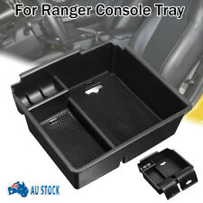 For Ford Ranger PX2 PX3 Center Console Armrest Storage Tray + Rubber Mat Black