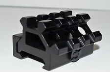 """3/4"""" Mini Riser & Offset 45 degree Angle Picatinny Quick Release Scope Mount"""