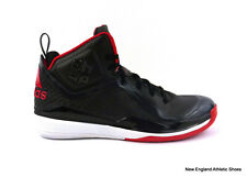 adidas men D Howard 5 basketball shoes sneakers Black Scarlet White NIB size 9