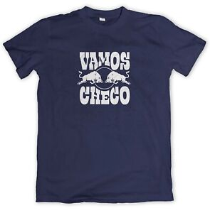T-Shirt VAMOS CHECO Sergio Perez Team Red Bull F1 Racing Motorsport Tee Adult Sz
