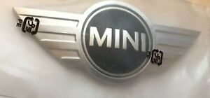 MINI Car Rare Boot ABS 3D Chrome BADGE - ONE - WORKS  COOPER Top Quality