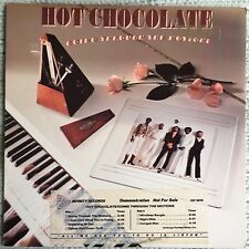 """Hot Chocolate Going Through the Motions 12"""" PROMO Vinyl Record 1979 Excellent"""